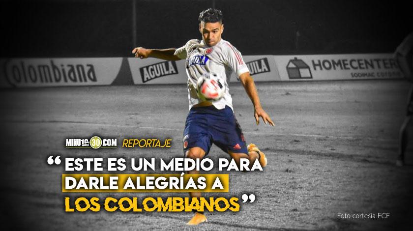 Falcao Garcia hablo de sus ilusiones la particularidades de las eliminatorias y mas
