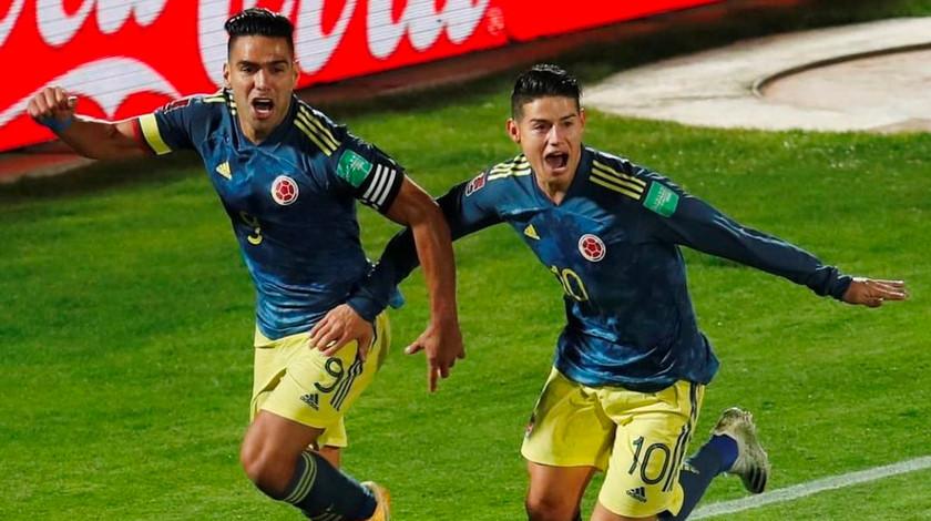 Falcao Garcia y James Rodriguez noticias