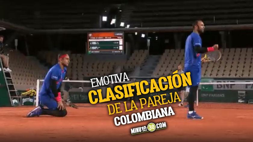 Farah y Cabal avanzaron a semifinales del Roland Garros
