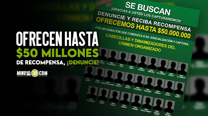 Fotos Estos son los delincuentes mas buscados en Medellin divididos por comunas