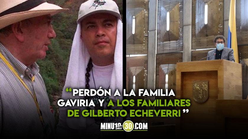 Guillermo Gaviria y Gilberto Echeverri Farc pide perdon por los asesinatos1