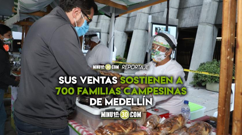 Hay que apoyarlos Mercados Campesinos vuelven a Medellin tras siete meses de ausencia