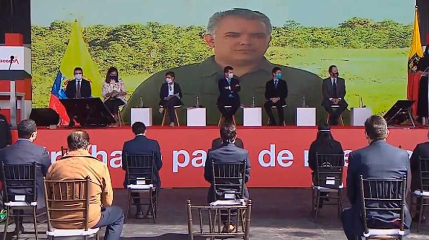 Ivan Duque inicio de las obras del Metro de Bogota