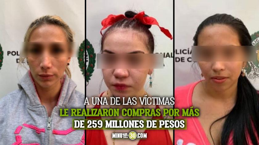 Judicializan a 3 mujeres investigadas por drogar y hurtar a dos ciudadanos norteamericanos