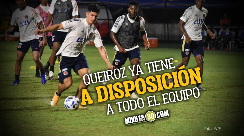 La Seleccion Colombia ya realizo su primer entrenamientos de cara al partido con Venezuela
