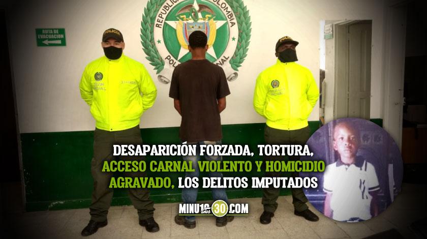 Lo que se sabe de la captura del presunto homicida del nino Marlon contado por la Policia