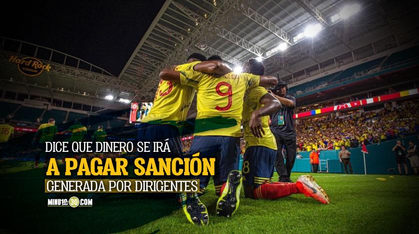 Periodista denuncia que a la Seleccion le entraran 4MDD y los equipos colombianos no veran nada