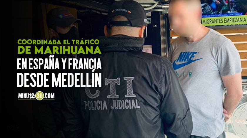 Video capturan frances radicado en Medellin que seria jefe de una red internacional de droga