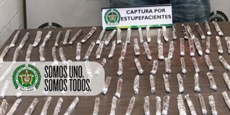 Capturado en Prado con marihuana
