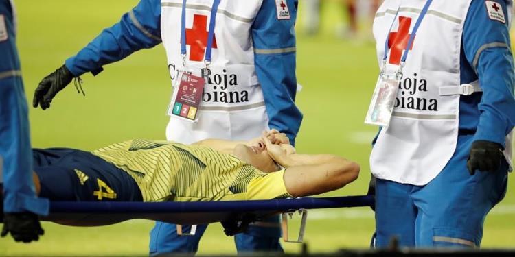 santiago arias lesion