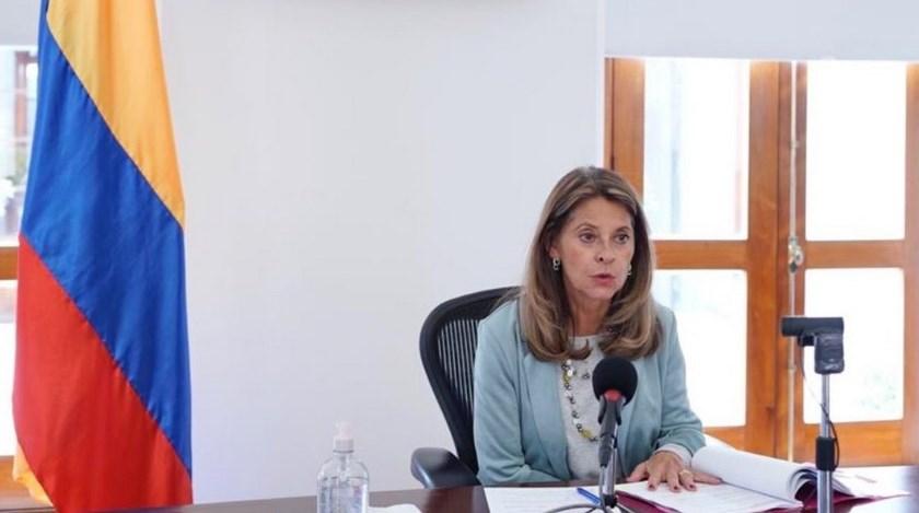 vicepresidenta Marta Lucia Ramirez
