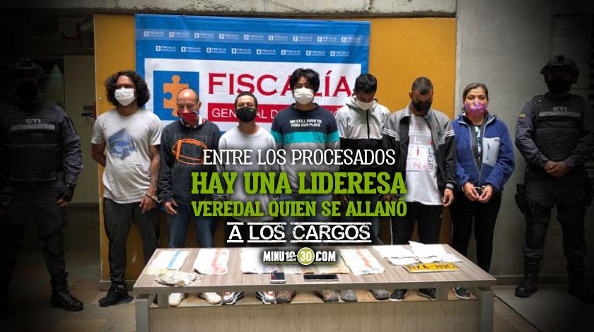 Asegurados siete presuntos integrantes del GDCO El Acopio