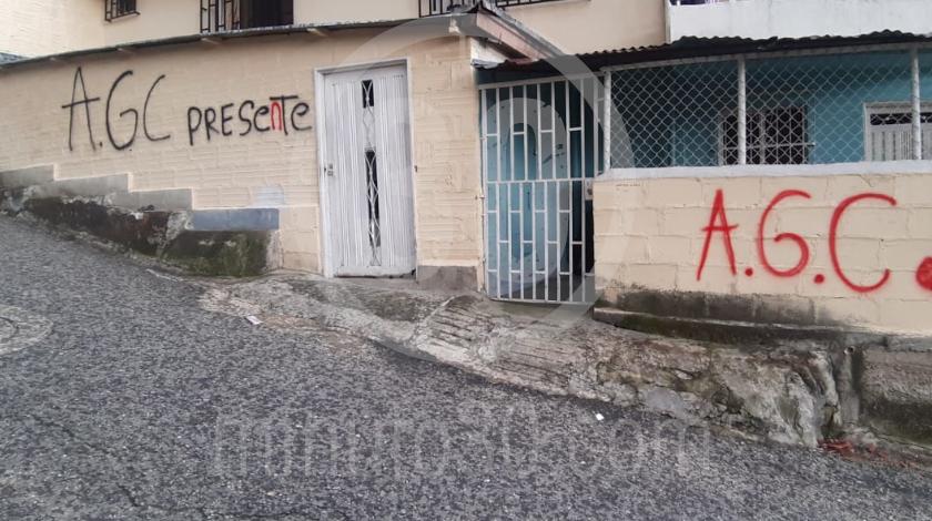 Autodefensas Gaitanistas de Colombia en la sierra medellin 1