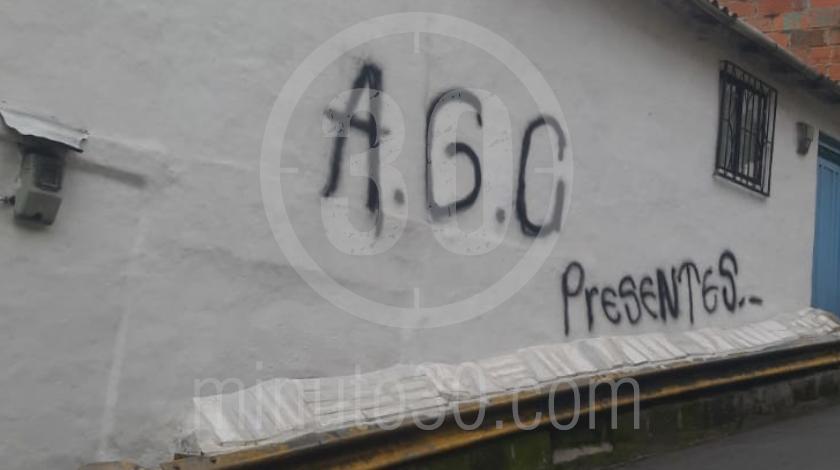 Autodefensas Gaitanistas de Colombia en la sierra medellin 4