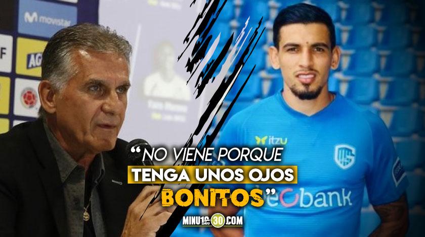 Carlos Queiroz defendio la convocatoria de Daniel Munoz y de Luis Suarez