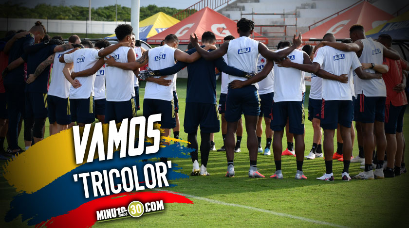 Definida la nomina titular de Colombia para enfrentar a Uruguay