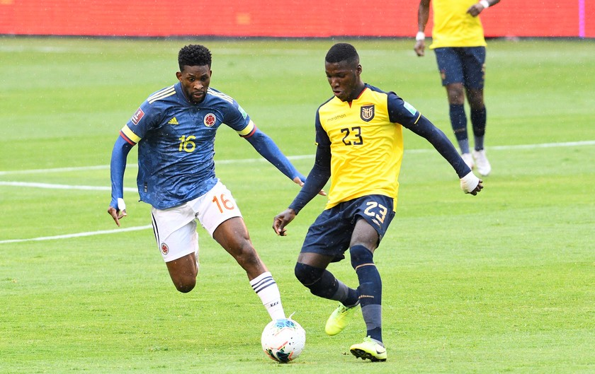 Ecuador vs Colombia 5