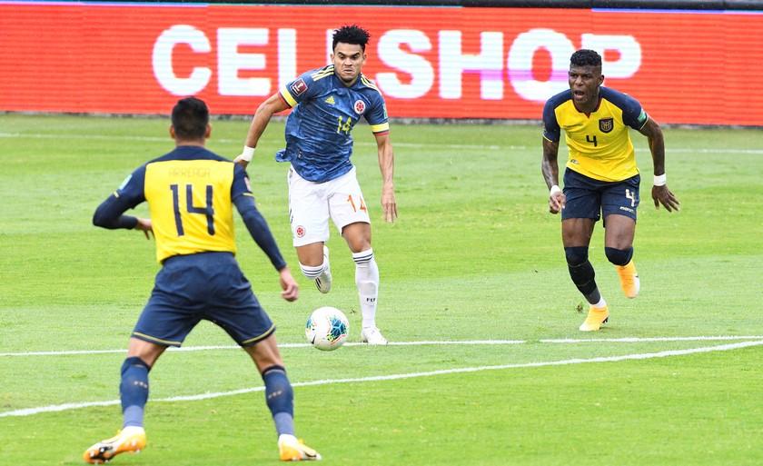 Ecuador vs Colombia 7