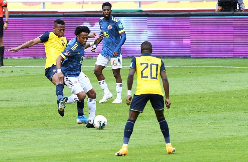 Ecuador vs Colombia 9
