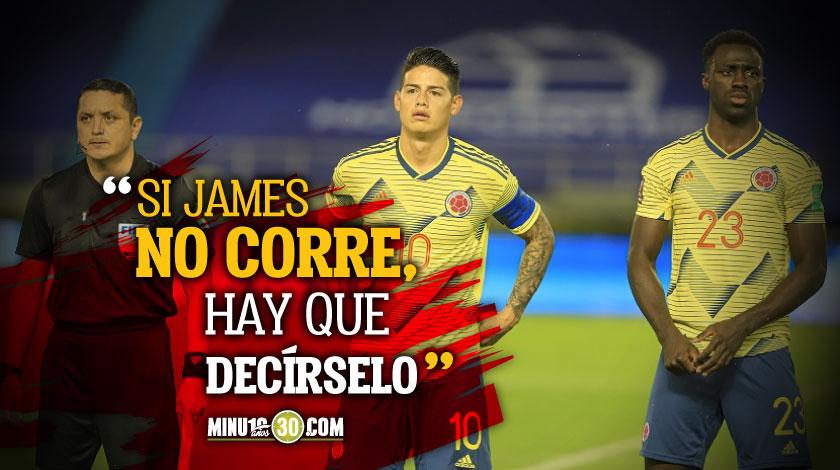 Exjugador de la Seleccion Colombia no entiende porque no sacan James cuando juega mal