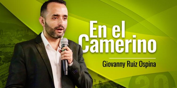 Giovanny Ruiz Ospina En el camerino tn