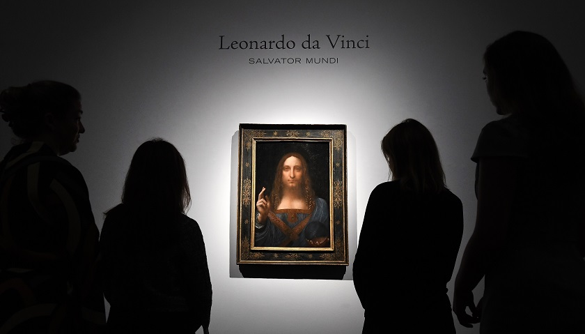 "Descubren dibujo de Leonardo con el ""verdadero"" rostro del Salvator Mundi"