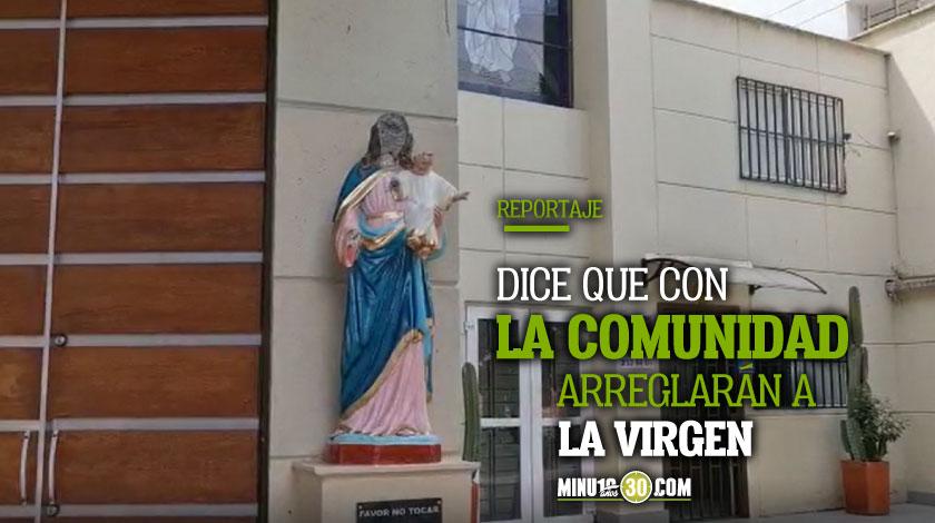 No lo han encontrado parroco de la parroquia en Belen donde atacaron a la Virgen cuenta detalles del agresor