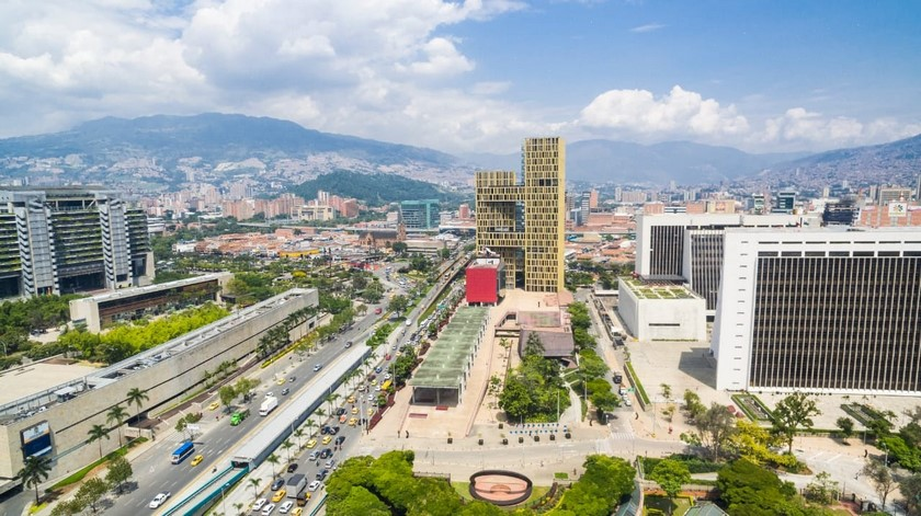 Panoramica Medellin vista