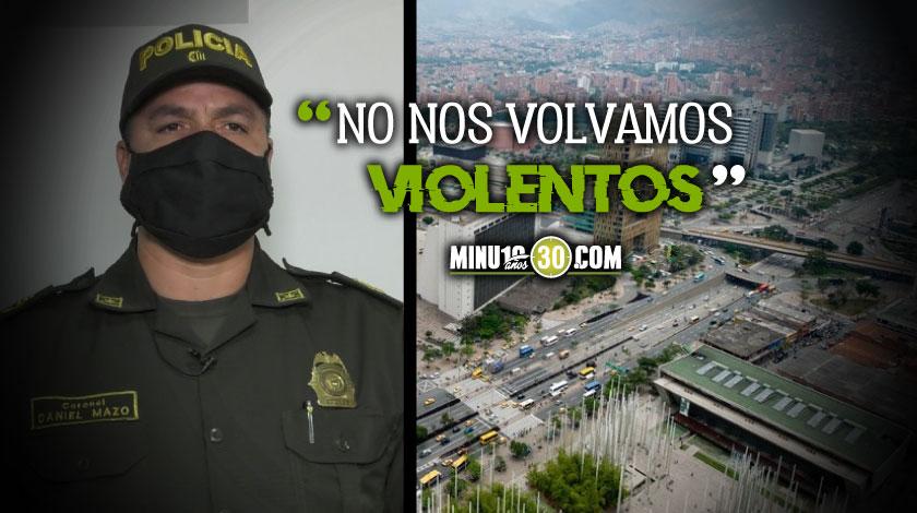 Policia confirma que joven fue linchado en el centro Medellin