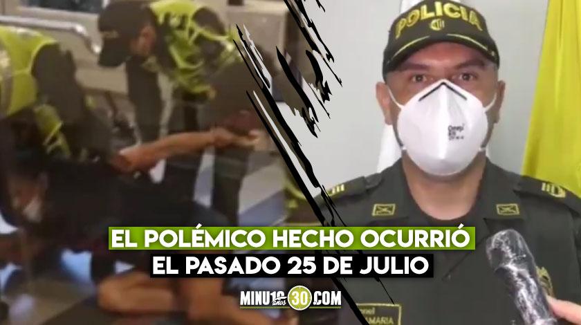 Policia de Medellin se excusa por llamar persona y no mujer a la joven trans