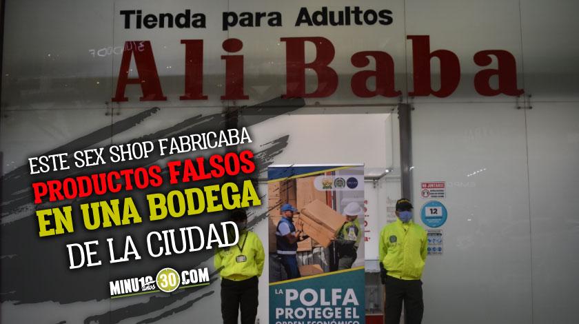 Por vender productos falsos realizan extincion de dominio a 5 locales de Ali Baba en Medellin