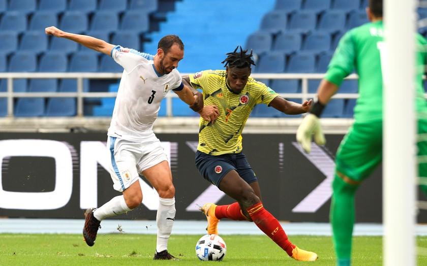 Seleccion Colombia vs Uruguay 2