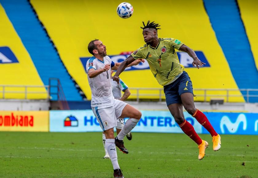 Seleccion Colombia vs Uruguay 9
