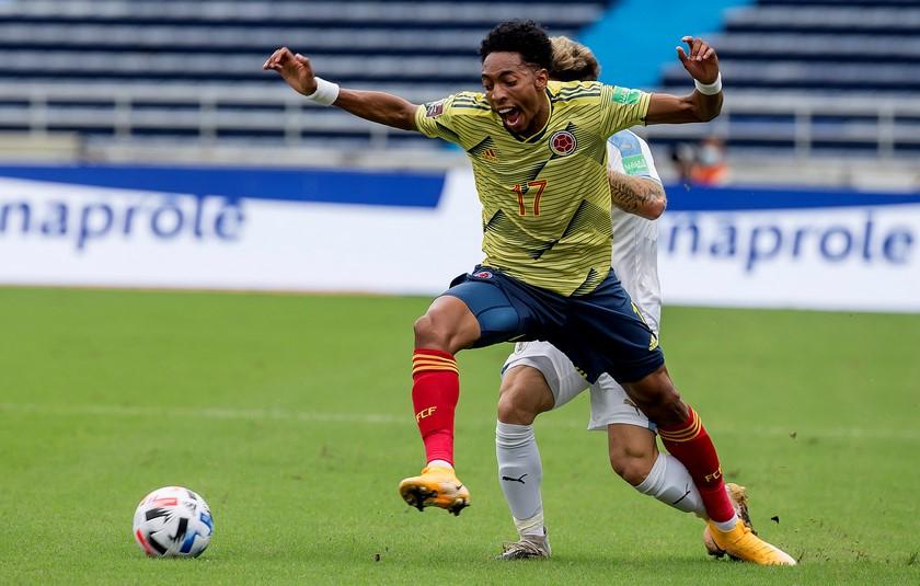 Seleccion Colombia vs Uruguay en la Eliminatorias 10