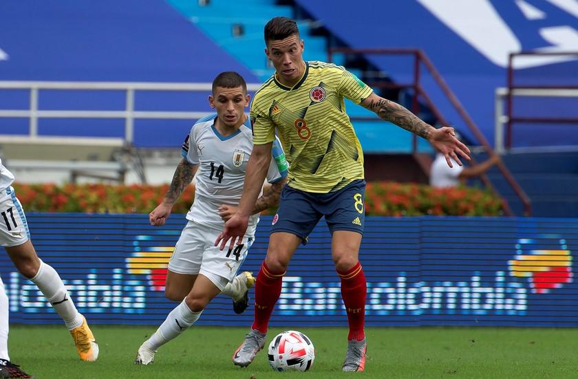 Seleccion Colombia vs Uruguay en la Eliminatorias 3