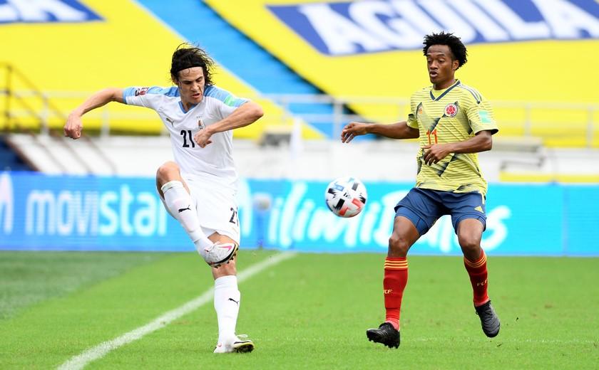 Seleccion Colombia vs Uruguay en la Eliminatorias 5