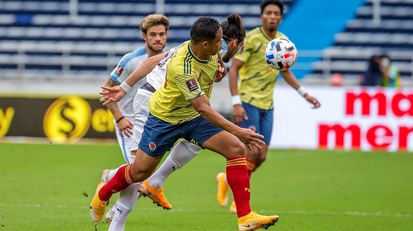 Seleccion Colombia vs Uruguay en la Eliminatorias 6 1
