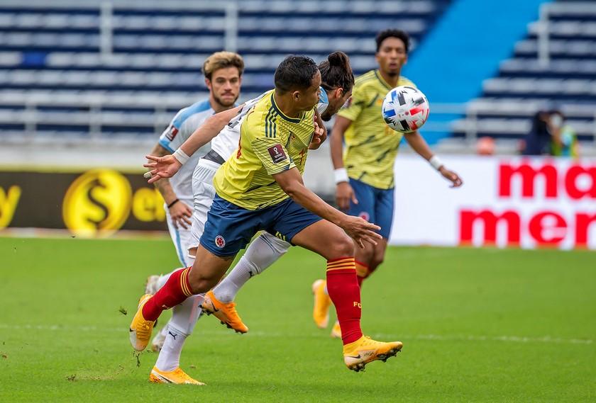 Seleccion Colombia vs Uruguay en la Eliminatorias 6