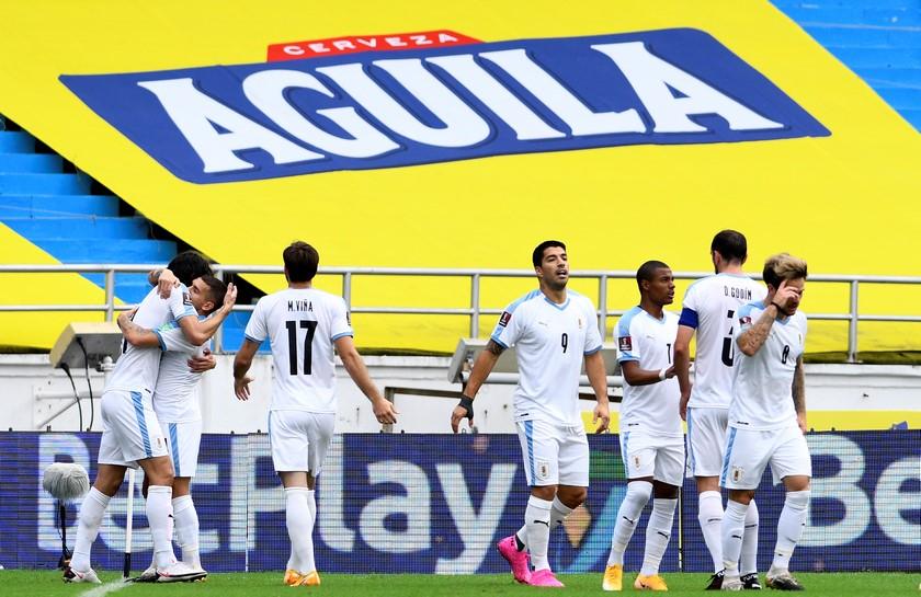 Seleccion Colombia vs Uruguay en la Eliminatorias 8
