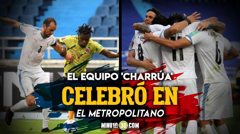 Uruguay freno en seco a Colombia en las Eliminatorias Sudamericanas
