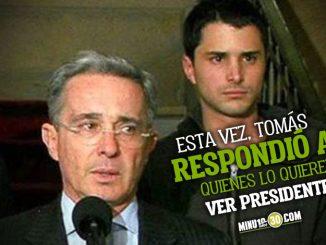 Vuelve al ruedo el nombre de Tomas hijo de alvaro Uribe para la presidencia en 2022