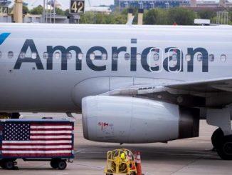american vuelo covid