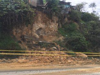 Familias afectadas por derrumbes en Cuidad Bolívar