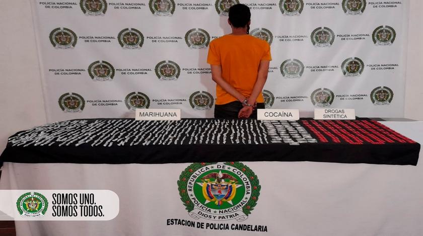 Capturado hombre con alto cargamento de drogas