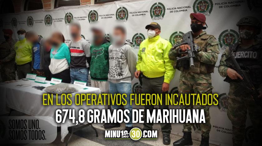 fueron capturados 7 integrantes del grupo delincuencial la union