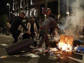 protestas gran via covid