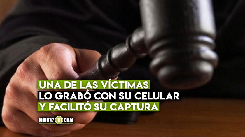 Condenado hombre que realizo actos sexuales frente a varias menores de edad