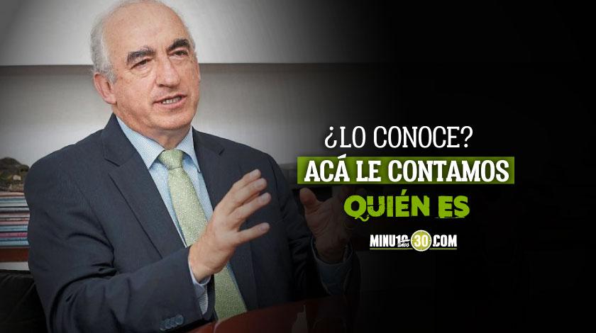 Leonardo Villar se convierte en el nuevo gerente del Banco de la Republica