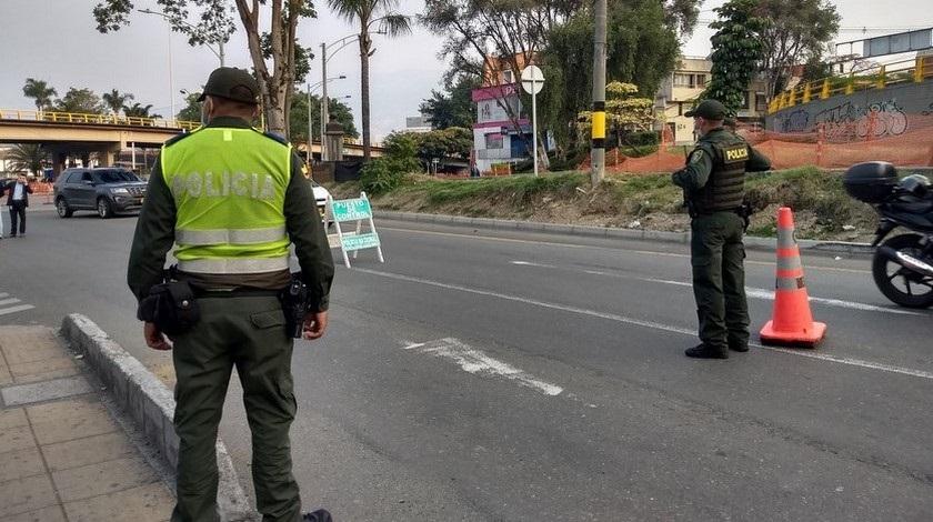 POLICIA CONTOL EN CUARENTENA 2