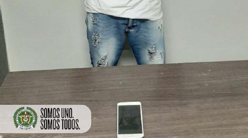 Captura de ladrones de celulares en Metro de Medellín